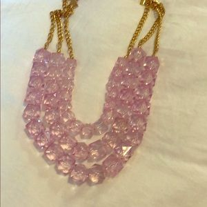 Chunky multi-strand necklace